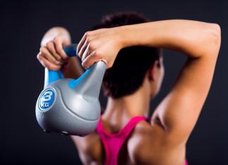 kettlebell exercise