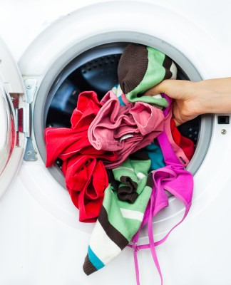 washing workout clothes