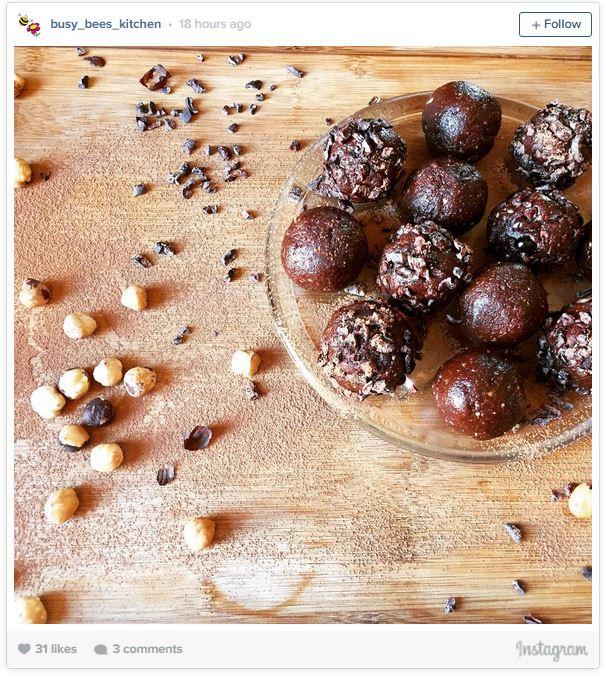 fudge protein ball