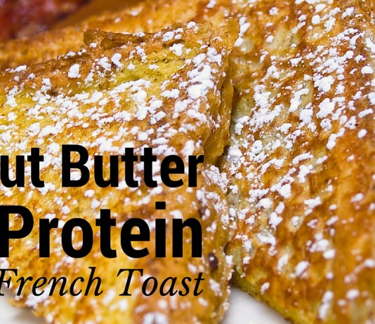 peanut butter protein french toast